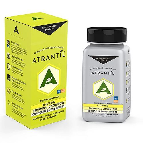 A 90 count Box and Bottle of Atrantil
