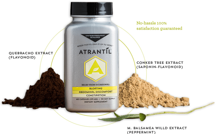 Bloated Stomach Discomfort, SIBO Treatment, Bloating Relief | Atrantil