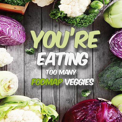You're eating too many foodmap veggies
