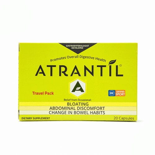 20 count travel pack of Atrantil