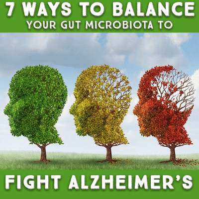7 Ways to Balance Your Gut Microbiota To Fight Alzheimer's