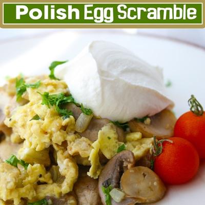 Polish Egg Scramble