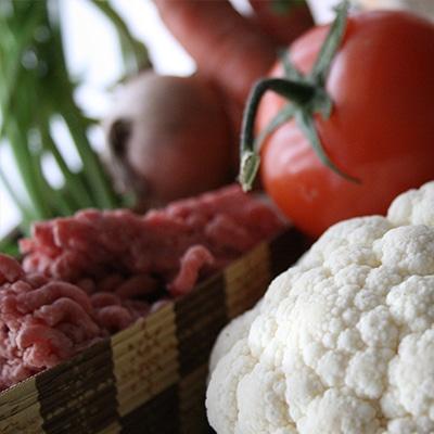 Cauliflower Shepherd's Pie Ingredients