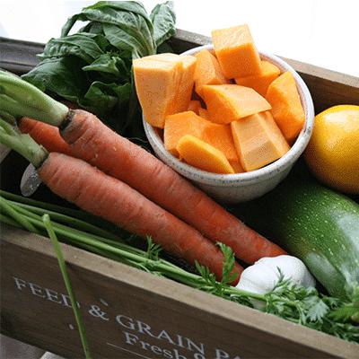 Tuscan Vegetable Soup Ingredients
