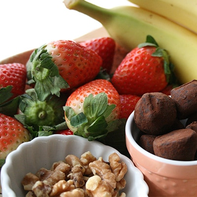 Frozen Strawberry Banana Ingredients