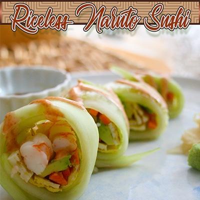 Riceless Naruto Sushi Rolls