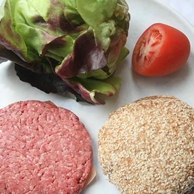Keto Paleo Burger Ingredients