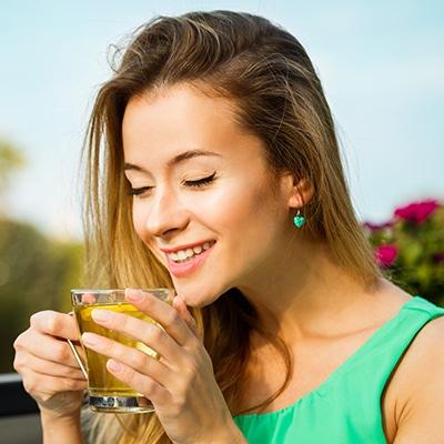 Drink herbal teas