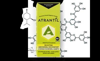 Atrantil Bottle science
