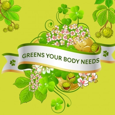 Greens Your body needs banner
