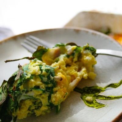 Crustless Breakfast Quiche