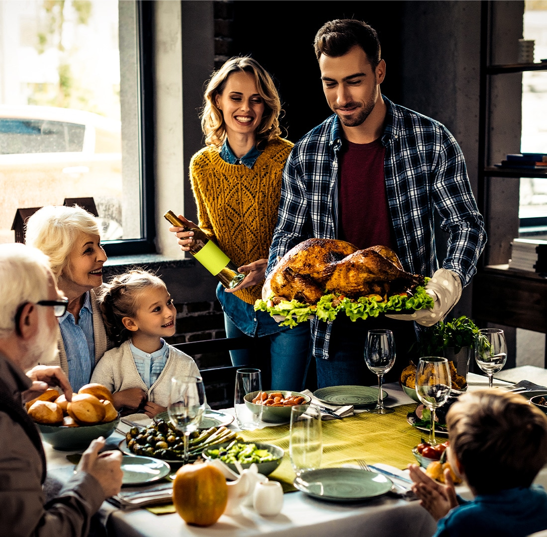 8 Tips for Reducing Thanksgiving Bloat