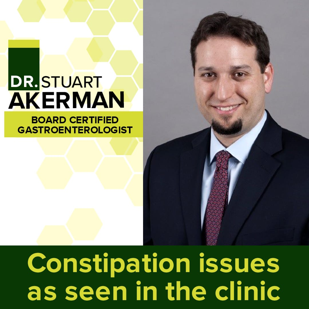 Constipation Issues As Seen In The Clinic