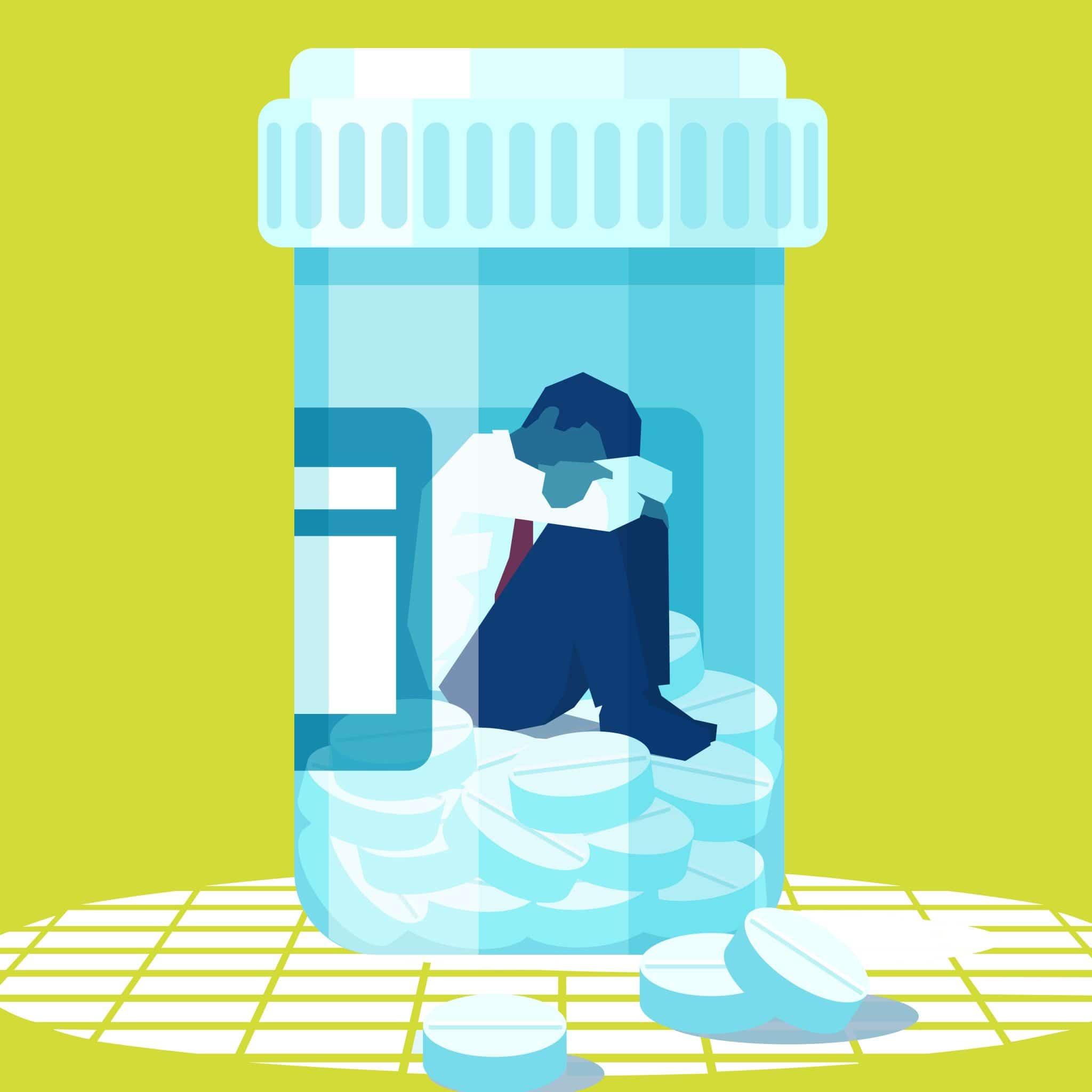 Bottle of pills
